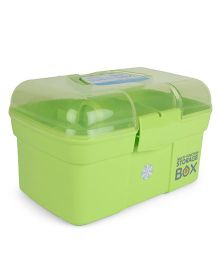 Multipurpose Storage Box With Handle - Green
