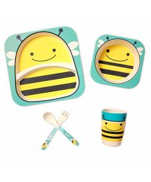 Ez Life Bee Dining Set 5 Pieces - Yellow