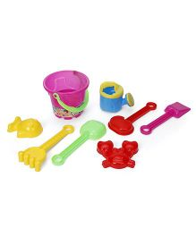 Sunny Beach Set Pack of 8 Pieces (Color May Vary)