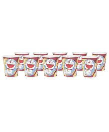 Doraemon Paper Party Glasses Pack of 10 - Multicolored