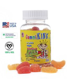 Gummiking Sunshine Vitamin D Gummy For Strong Immunity - 30 Gummies (Assorted)