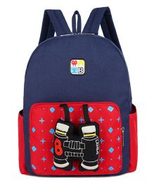 Abracadabra Backpack Binocular 3D Toy Blue -  11 Inches
