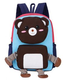 Abracadabra Teddy 3D Pop Out Backpack Blue - 10 Inches