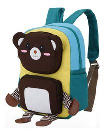 Abracadabra Teddy 3D Pop Out Backpack Yellow - 10 Inches