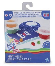 Baby Alive Super Snacks Reusable Solid Food Refill Pack - Blue