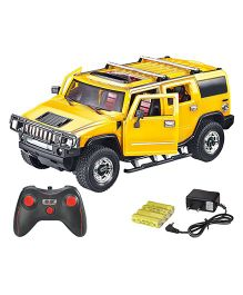 Webby Remote Controlled Hummer Car - Yellow