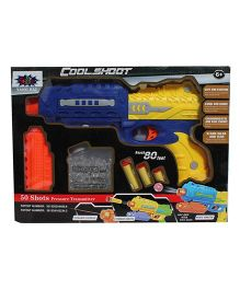 Webby Gun With Jelly Shots & Soft Foam Bullets - Multicolor