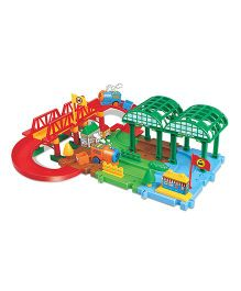 Webby Self Assembly Happy Train Set - Multicolor