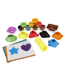 Play Doh Colors & Shapes Kit - Multicolor