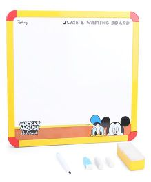 Disney Mickey Mouse 2 In 1 Slate & Writing Board (Color May Vary)