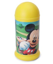 Disney Mickey Mouse Coin Bank - Yellow  (Print May Vary)