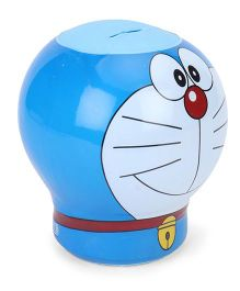 Doraemon Shape Coin Bank - Blue