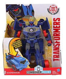 Transformers RID Soundwave Figure Navy - Height 12.7 cm