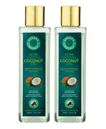Shesha Naturals Extra Virgin Coconut Oil From Kerala Pack Of 2 - 200 ml