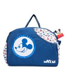 Disney Mickey Mouse Design Diaper Bag With Changing Mat - Blue