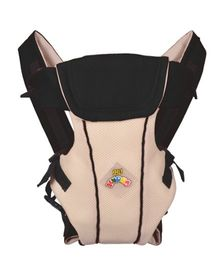 Kudos Baby Multi Position Baby Carrier - Black Beige