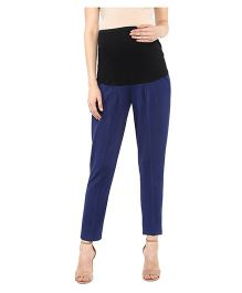 Mamacouture Maternity Pants -  Navy