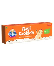 Bebe Burp Organic Baby Food Ragi Cookies - 200 gm