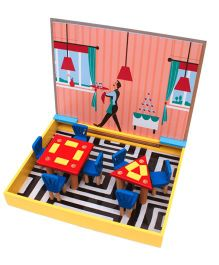 Skola Restaurant Geometry Educational Game - Multi Color
