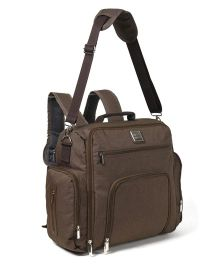 Mee Mee Back Pack Style Mama's Bag - Brown