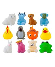 VibgyorVibes Squeeze Me Toys Pack Of 12 - Multicolor