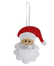 Li'll Pumpkins Santa Hanging - Red