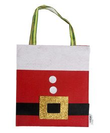 Li'll Pumpkins Santa Gift Bag - Red