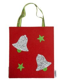 Li'll Pumpkins Bells Gift Bag - Red
