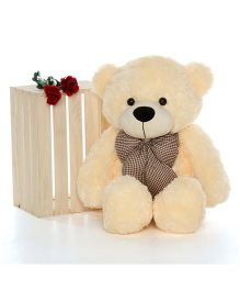 Skylofts Teddy Bear Soft Toy Cream - Height 95 cm