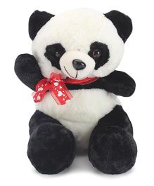 Skylofts Panda With Bow Soft Toy Black - 95 cm