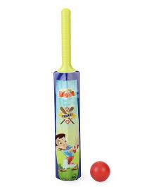 Chhota Bheem Cricket Bat & Ball Set - Multicolor