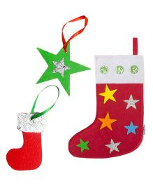 Li'Ll Pumpkins Stars Socks & 2 Gift Tags - Multicolour