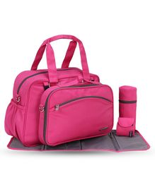 My Milestones Diaper Bag Duo Detach - Pink