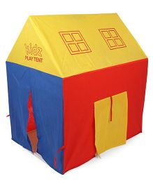 Awals Lucky Light House With Led Light - Red Yellow Blue
