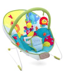 Babyhug Comfy Bouncer Babyhug Comfy Bouncer With Music & Calming Vibrations Animal Print - Multicolour