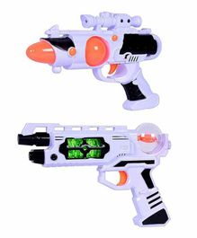 Planet of Toys Space Weapon Guns Combo Multicolor - Set Of 2