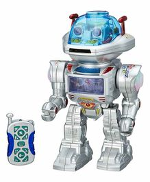 Planet of Toys Remote Controlled Robot With Dance Moves - Silver