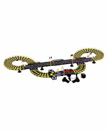 Planet of Toys Electronic Race Track With Independent Car Control Multicolour - Length 435 cm