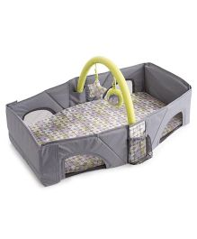 Babies Bloom Infant Travel Bag Cum Diaper Changer - Grey