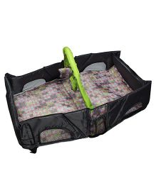 Babies Bloom Infant Travel Bag Cum Diaper Changer - Black