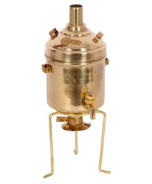 Desi Toys Brass Water Heater Pretend Play Set - Golden