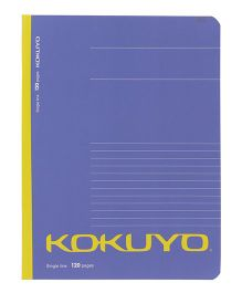 Kokuyo Single Line Notebook Purple - 120 Pages