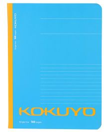 Kokuyo Single Line Notebook Blue - 160 Pages