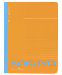 Kokuyo Single Line Notebook Orange - 120 Pages