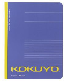 Kokuyo Single Line Notebook Purple - 160 Pages