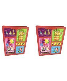 Funcart 3D Birthday Cake Gift Bag Pack Of 2