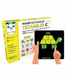 Play Panda Magnetic Puzzle With Magnetic Canvas - 300 Triangle Pieces