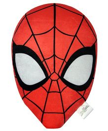 Marvel Spiderman Face Shape Cushion - Red