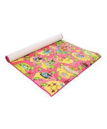 Unimats Play Mat City Print - Pink & Multi Colour