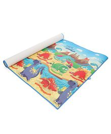 Unimats Play Mat Dinosaur Print - Multi Colour